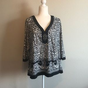 Notations NWT Blouse Top